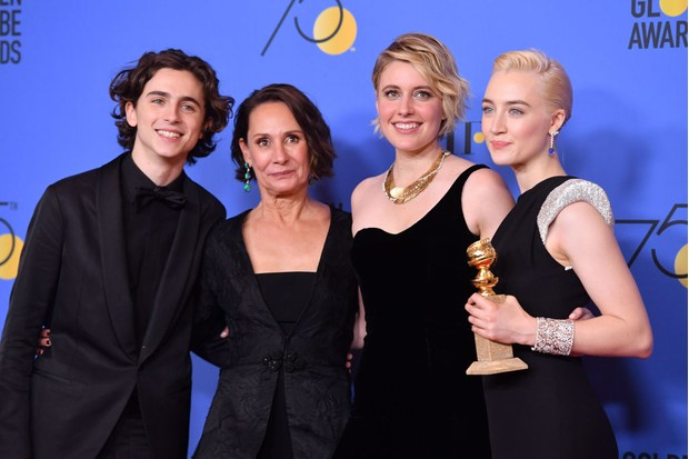 The cast of Lady Bird