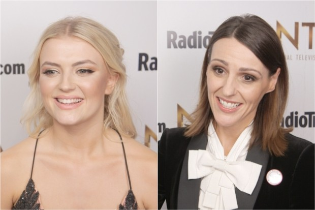 Lucy Fallon and Suranne Jones NTAs 2018