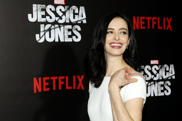 Krysten Ritter ahead of the release of Jessica Jones season one (Netflix, JG)