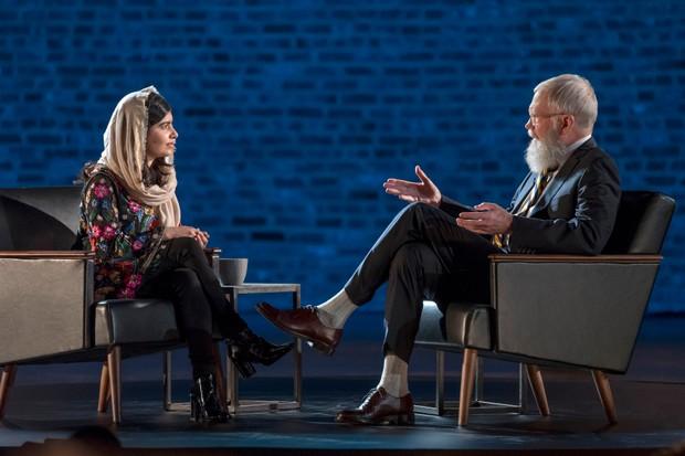 Malala Yousafzai, David Letterman (Netflix, BA)