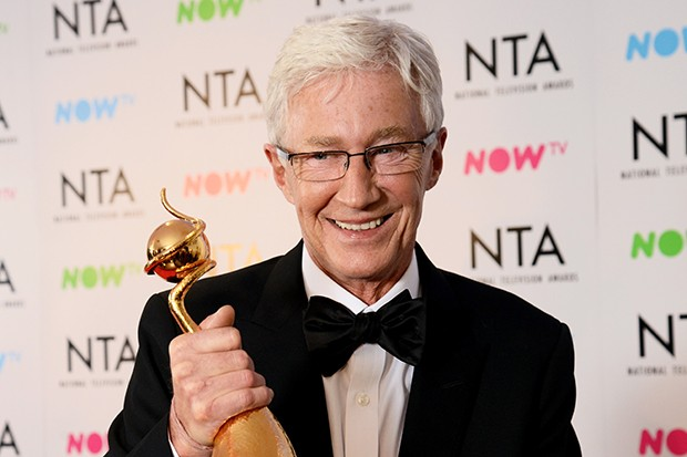 Paul O'Grady at the NTAs