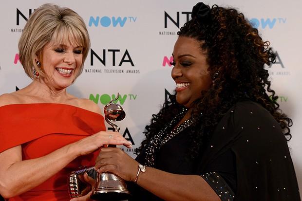 Ruth Langsford and Alison Hammond at the NTAs