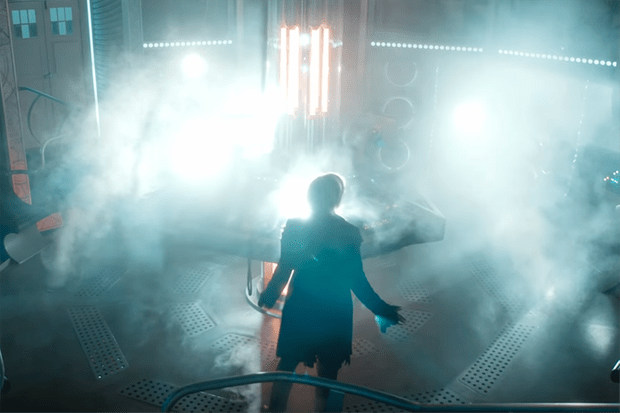 Jodie Whittaker in Doctor Who: Twice Upon a Time