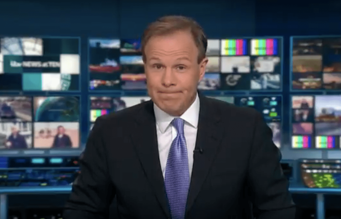 Tom Bradby on ITV News at Ten