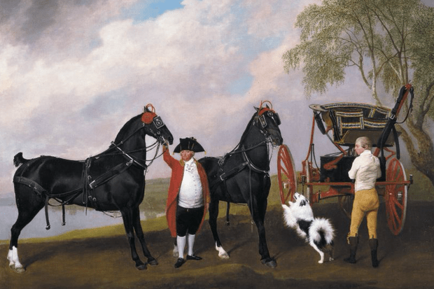 The Prince of Wales's Phaeton by George Stubbs 1793 (Royal Collection Trust, EH)