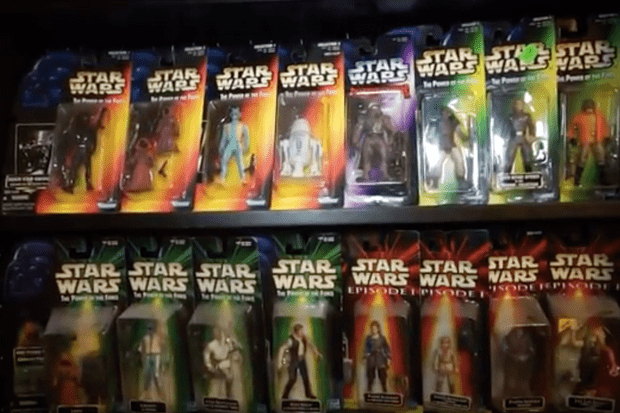 Star Wars collection from YouTube user BigAndysCollectibles