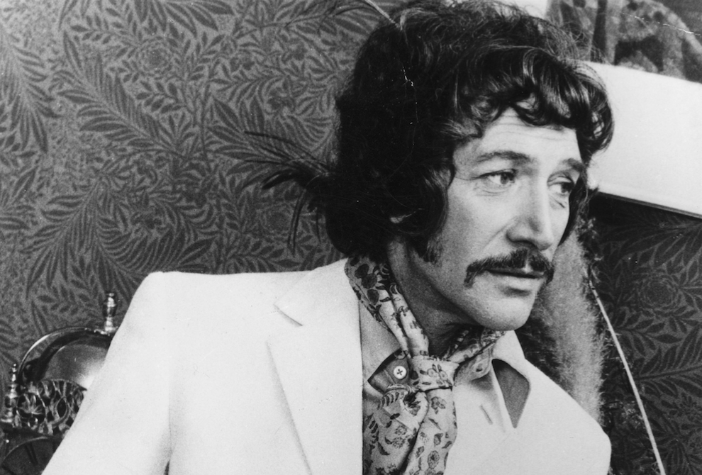 Peter Wyngarde (Getty)