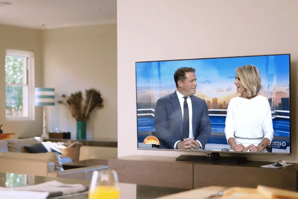 Channel 9 Today show promo is a lot like BBC Breakfast