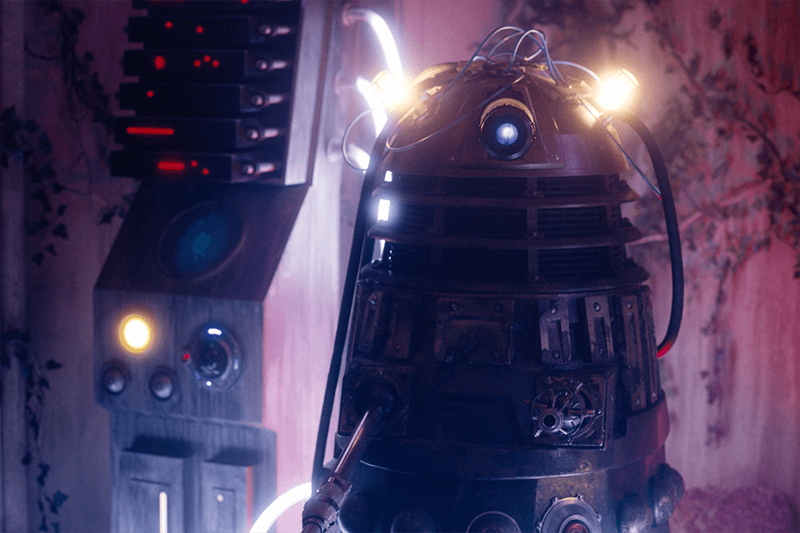Rusty the Dalek in Twice Upon a Time (BBC, HF)