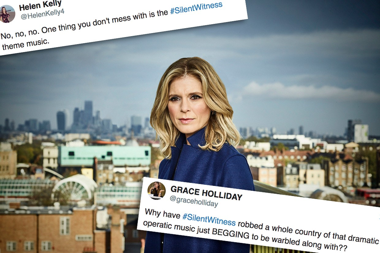 Silent Witness has a new opening theme and viewers aren't happy