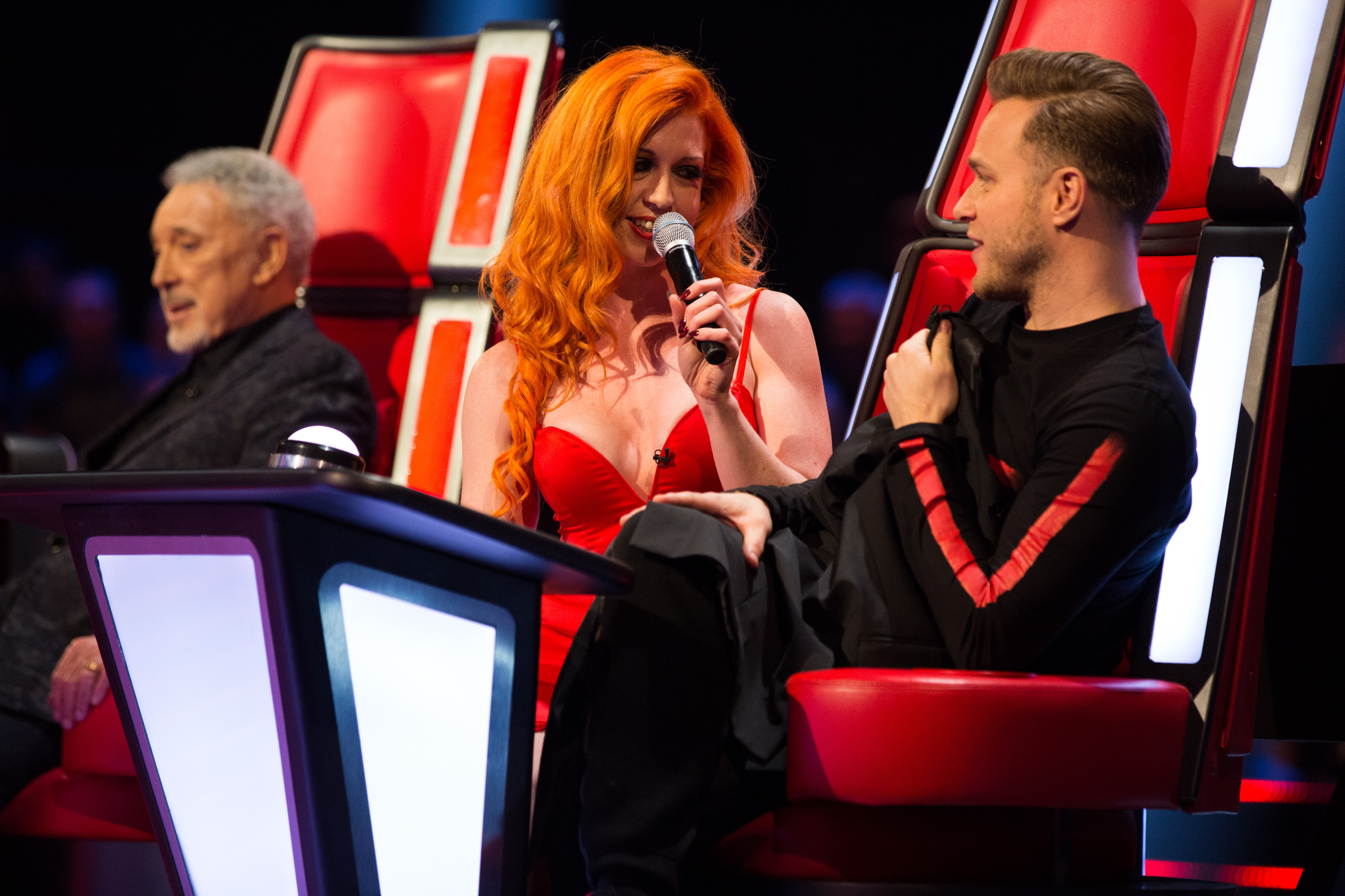 Ivy Paige and Olly Murs on The Voice UK