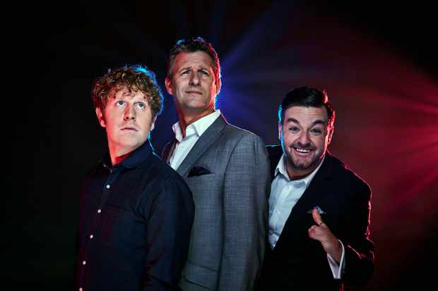 The Last Leg: (Adam Hills and co-hosted by Josh Widdicombe and Alex Brooker)