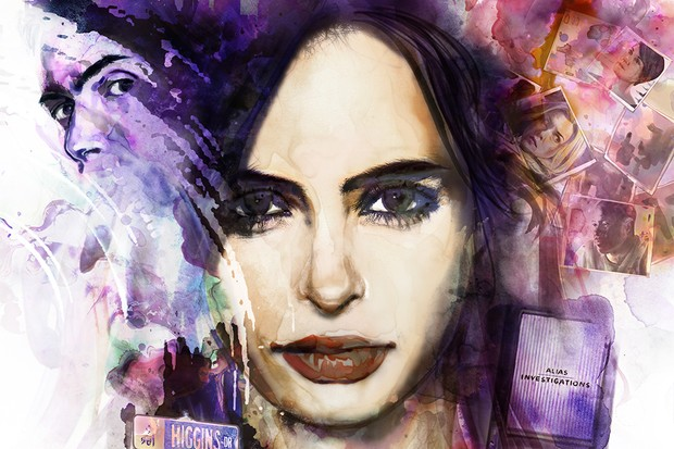 Jessica Jones season one poster (Netflix, JG)