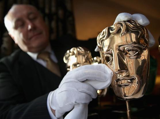 Bafta mask, Getty, SL