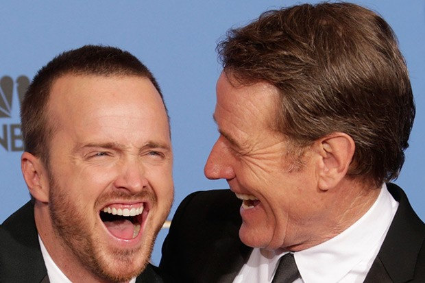 Bryan Cranston and Aaron Paul, Getty, SL