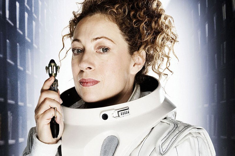 Alex Kingston as River Song in Doctor Who (BBC, HF)