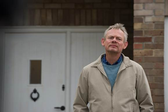Martin Clunes in BBC1's Warren