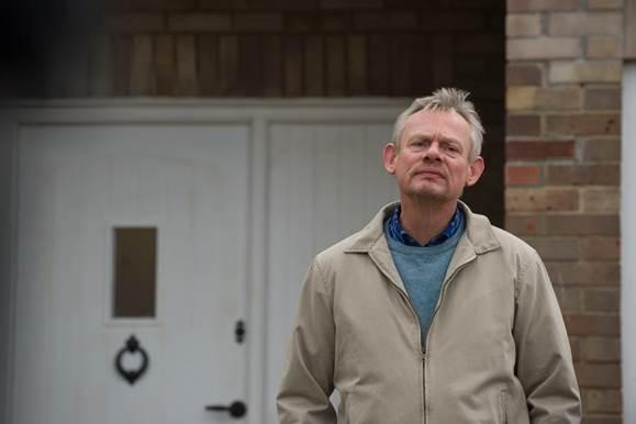 Martin Clunes in BBC1's Warren