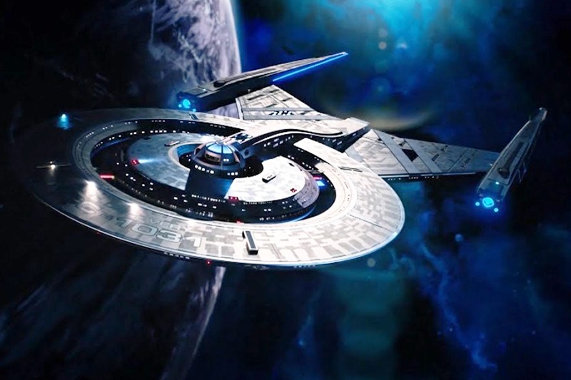 The USS Discovery in Star Trek: Discovery (Netflix, HF)