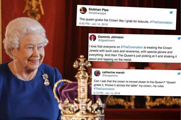 The Queen coronation reaction