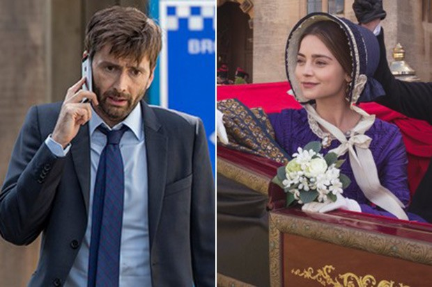 David Tennant and Jenna Coleman, ITV, SL