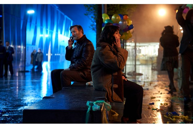 Mandheep Dhillon and David Morrissey, The City & the City (BBC, EH)