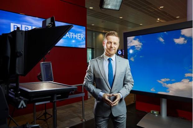 Tomasz Schafernaker, BBC Weather (BBC, EH)