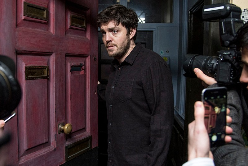 Tom Burke as Strike in Strike: Career of Evil