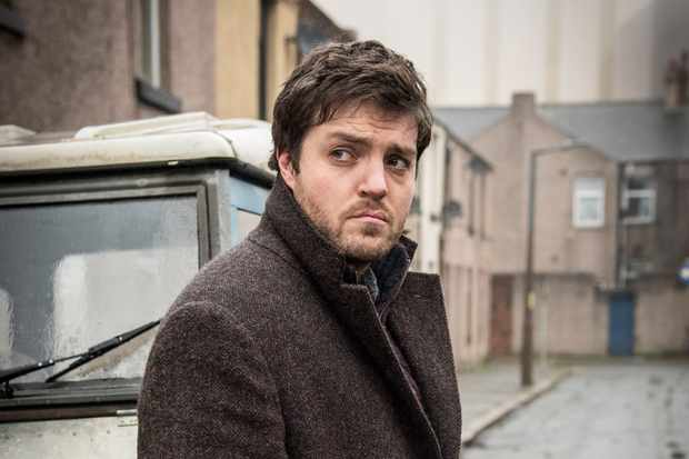 Tom Burke as Cormoran Strike (BBC, EH)