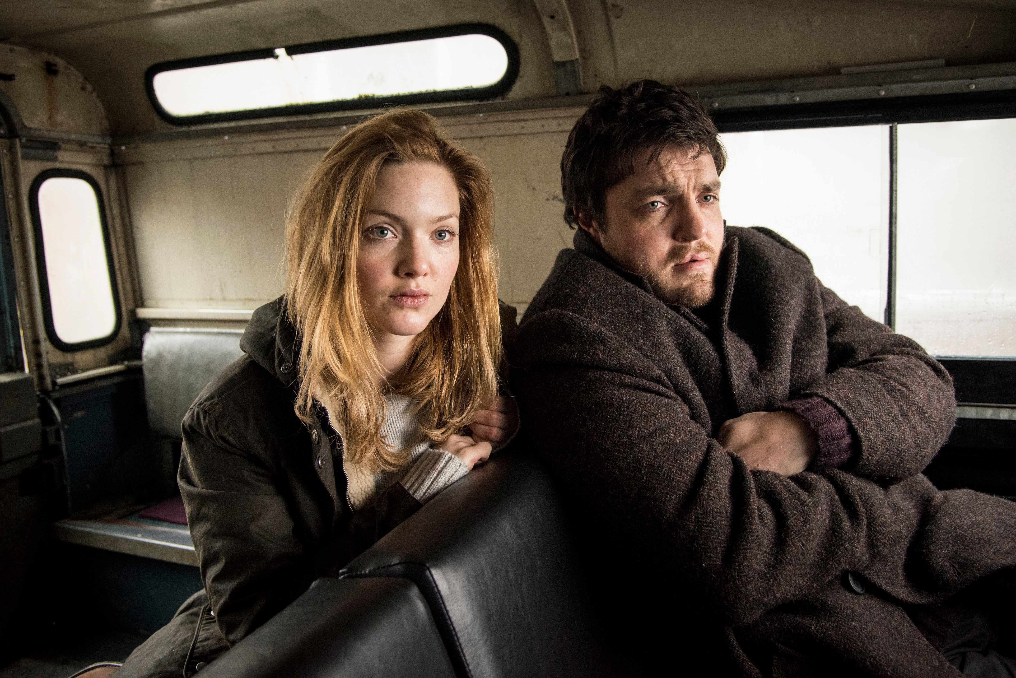 Holliday Grainger and Tom Burke, Strike (BBC, EH)