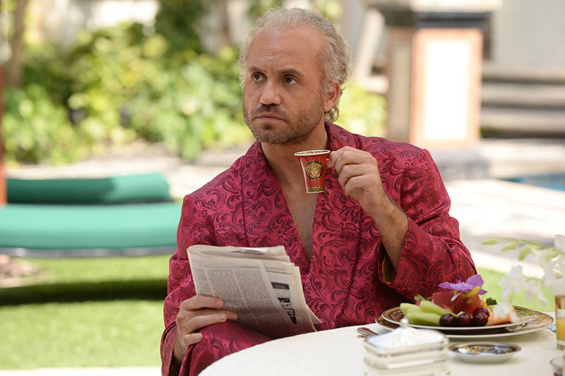 Edgar Ramirez in the title role for The Assassination of Gianni Versace: American Crime Story (BBC, HF)