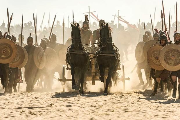 Joseph Mawle as Odysseus in Troy: Fall of a City (BBC, HF)
