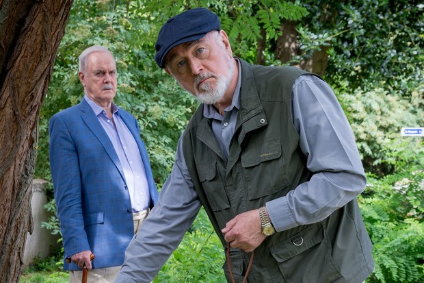 Peter Egan is Mr Dugdale in Hold The Sunset
