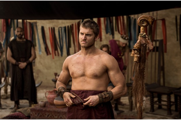 Programme Name: Troy - Fall of a City - TX: n/a - Episode: Troy - Fall of a City episode 1 (No. 1) - Picture Shows: Hector (TOM WESTON-JONES) - (C) Wild Mercury Productions - Photographer: Graham Bartholomew BBC, TL