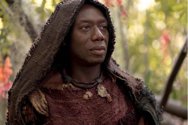 WARNING: Embargoed for publication until 00:00:01 on 13/02/2018 - Programme Name: Troy - Fall of a City - TX: n/a - Episode: Troy - Fall of a City episode 1 (No. 1) - Picture Shows: Zeus (HAKEEM KAE-KAZIM) - (C) Wild Mercury Productions - Photographer: Patrick ToselliBBC, TL