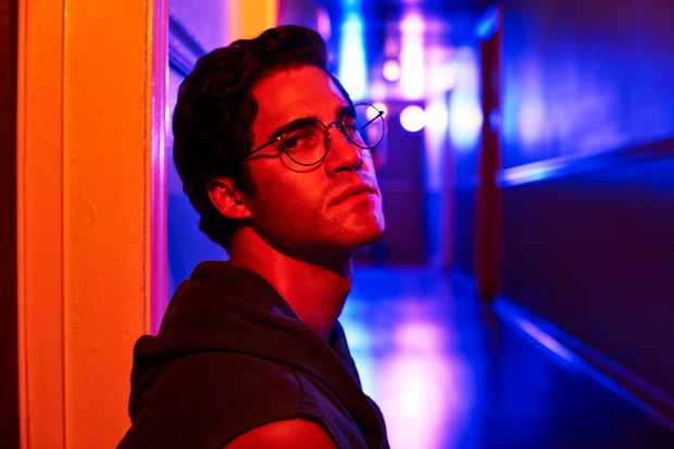 Darren Criss as Andrew Cunanan in The Assassination of Gianni Versace: American Crime Story (BBC, TL)