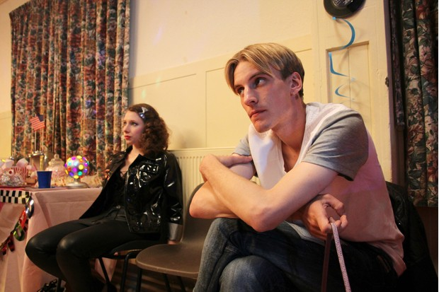 Kayleigh (CELESTE DRING) and Kurtan (CHARLIE COOPER) in This Country