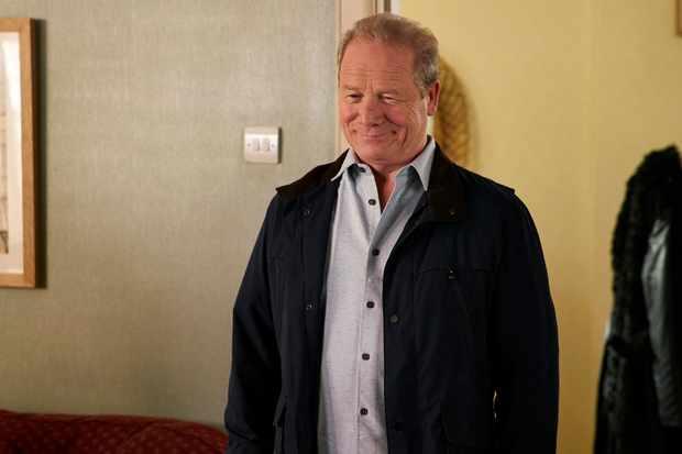 Peter Mullan is Michael in Mum