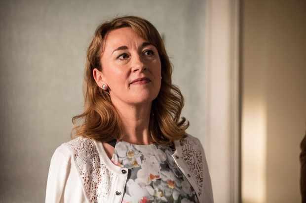 Dorothy Atkinson is Pauline in Mum