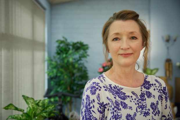 Cathy (LESLEY MANVILLE) in BBC's Mum (BBC, JG)