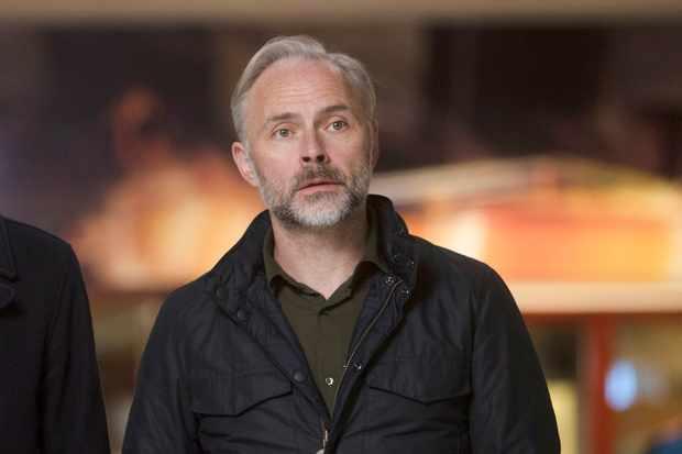 Douglas Henshall and Mark Bonnar, Shetland (BBC, EH)