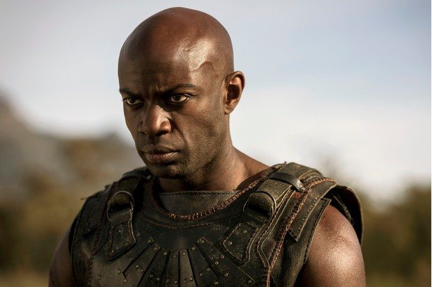 David Gyasi as Achilles in Troy: Fall of a City