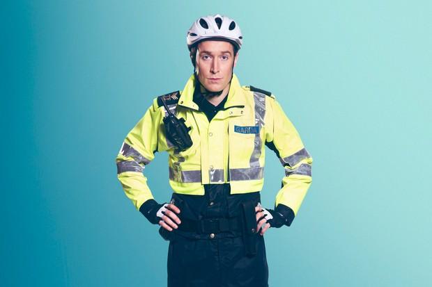Dominic MacHale is Sergeant Tony Healy
