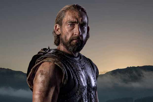 WARNING: Embargoed for publication until 00:00:01 on 13/02/2018 - Programme Name: Troy - Fall of a City - TX: n/a - Episode: Troy - Fall of a City generics (No. n/a) - Picture Shows: Odysseus (JOSEPH MAWLE) - (C) Wild Mercury Productions - Photographer: Graham BartholomewBBC, TL