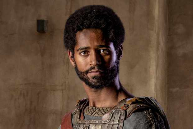 WARNING: Embargoed for publication until 00:00:01 on 13/02/2018 - Programme Name: Troy - Fall of a City - TX: n/a - Episode: Troy - Fall of a City generics (No. n/a) - Picture Shows: Aeneas (ALFRED ENOCH) - (C) Wild Mercury Productions - Photographer: Graham Bartholomew BBC, TL