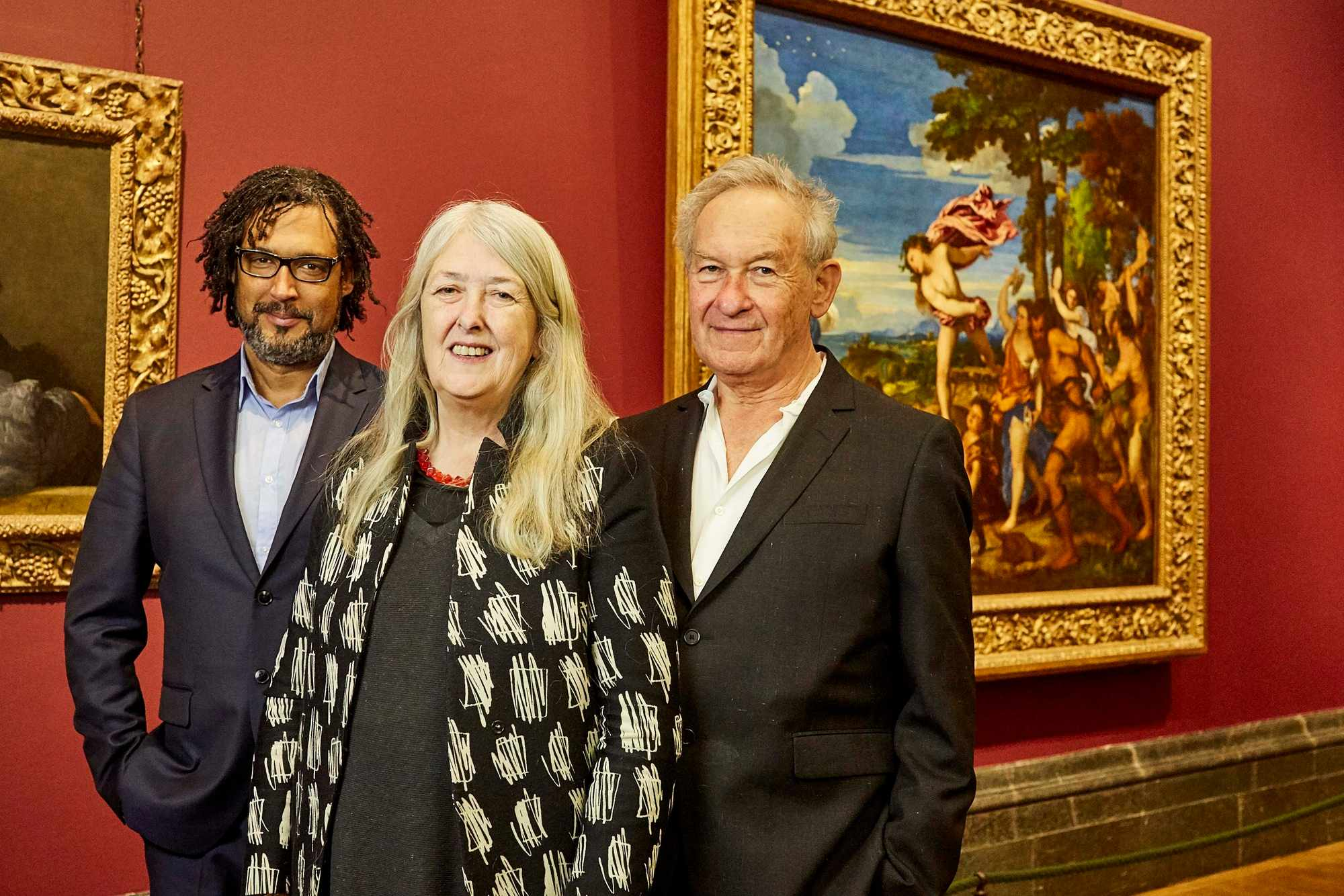 David Olusoga, Mary Beard and Simon