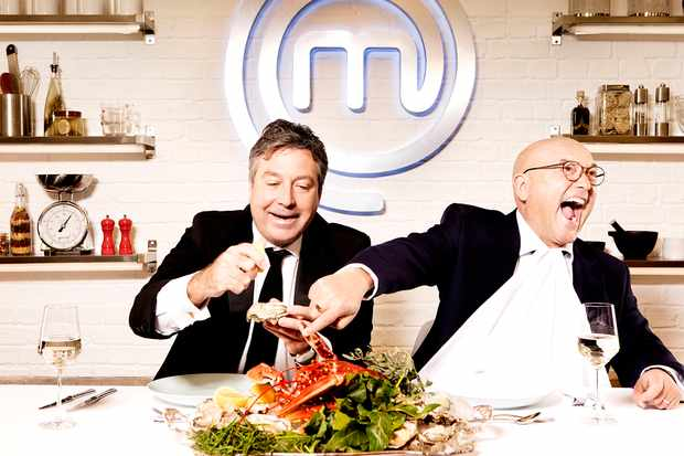Programme Name: Masterchef  - TX: n/a - Episode: Judges Generics (No. Judges Generics) - Picture Shows: (L-R) John Torode, Gregg Wallace - (C) Shine TV Ltd - Photographer: Production  BBC, TL