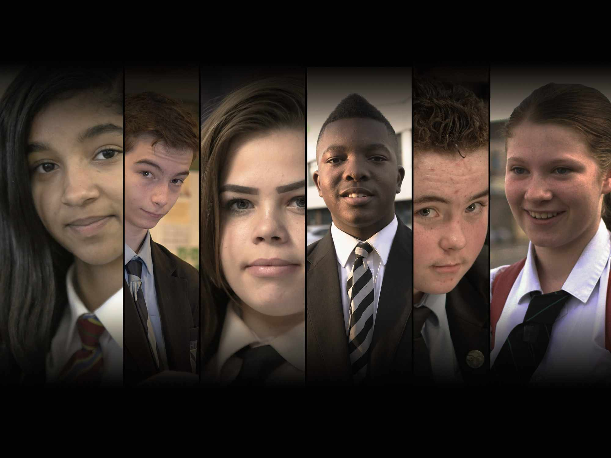Programme Name: Generation Gifted - TX: n/a - Episode: Girls (No. 1) - Picture Shows: Student contributors  - (C) Blast! Films - Photographer: multiple  BBC, TL