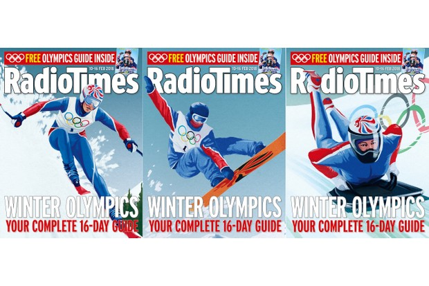 Radio Times Winter Olympics 3 covers