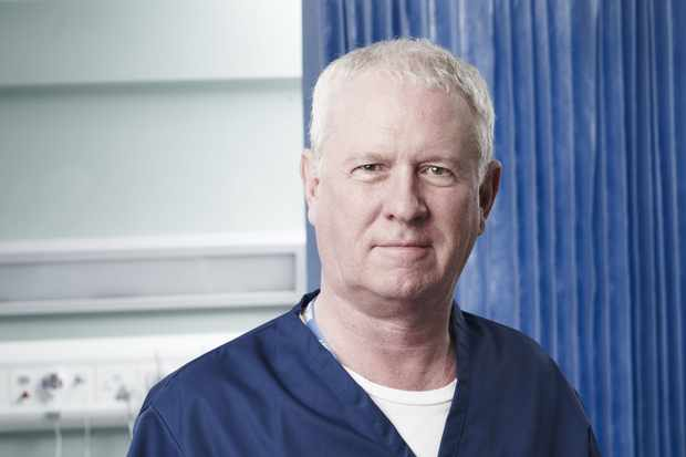 WARNING: Embargoed for publication until 14:59:45 on 03/01/2012 - Programme Name: Casualty - Portraits - TX: n/a - Episode: Casualty - Portraits (No. n/a) - Picture Shows: Charlie Fairhead (DEREK THOMPSON) - (C) BBC - Photographer: Phil Fisk BBC, TL